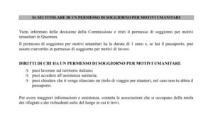 Salvini spara a zero sulla protezione umanitaria